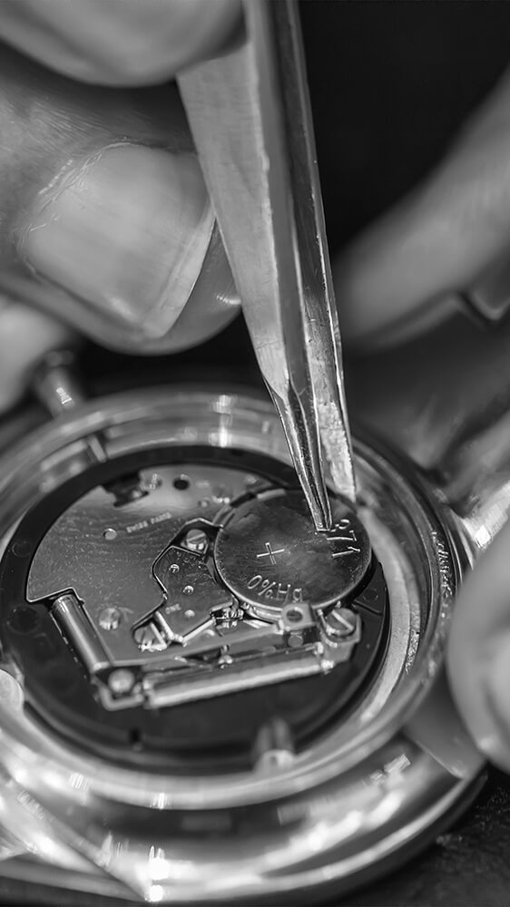 Batteriewechsel SG Watches Uhren